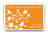 Hero Arts - Shadow Ink - Mid-Tone - Dye Pad - Just Rust