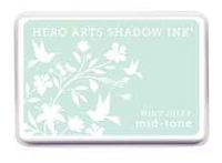 Hero Arts - Shadow Ink - Mid-Tone - Dye Pad - Mint Julep