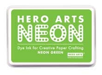 Hero Arts - Neon Ink Pad - Green