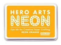 Hero Arts - Neon Ink Pad - Orange