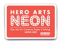 Hero Arts - Neon Ink Pad - Red