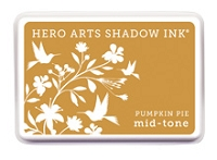 Hero Arts - Shadow Ink - Mid-Tone - Dye Pad - Pumpkin Pie