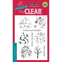 Hero Arts - Clear Stamp - Color Layering Fall Trees