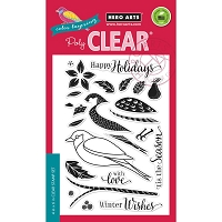 Hero Arts - Clear Stamp - Color Layering Dimensional Bird