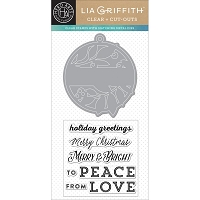 Hero Arts - Stamp & Cut - Merry & Bright Tag by Lia