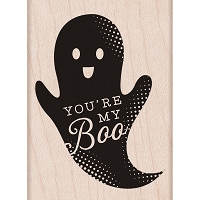 Hero Arts - Wood Mounted Rubber Stamp - You're My Boo