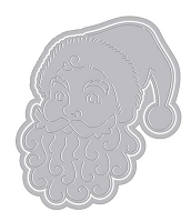 Hero Arts - Fancy Die - Paper Layering Santa Face