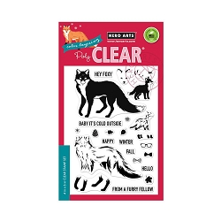 Hero Arts - Clear Stamp - Color Layering Fox