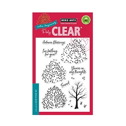 Hero Arts - Clear Stamp - Color Layering Autumn Trees
