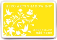Hero Arts - Shadow Ink - Mid-Tone - Lemon Yellow