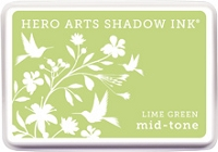 Hero Arts - Shadow Ink - Mid-Tone - Lime Green