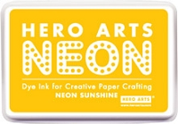Hero Arts - Neon Ink Pad - Sunshine