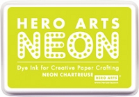 Hero Arts - Neon Ink Pad - Chartreuse