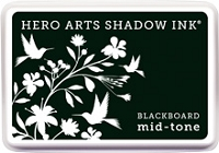 Hero Arts - Shadow Ink - Mid-Tone - Black