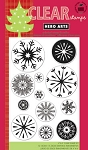 Hero Arts-Clear Stamp-Snowflakes