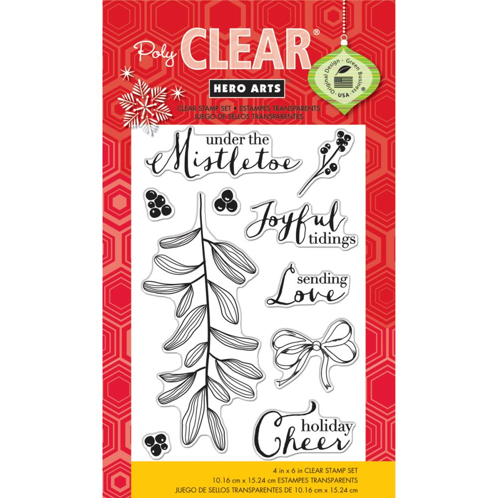 Clear Christmas Stamps