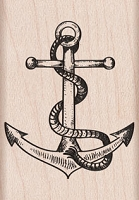 Hero Arts - Wood Mounted Rubber Stamp - Anchor
