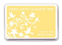 Hero Arts - Shadow Ink - Mid-Tone -  Dye Pad - Butter Bar
