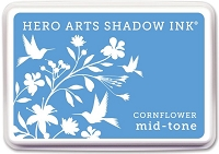 Hero Arts - Shadow Ink Mid-Tone -  Dye Pad - Cornflower