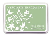 Hero Arts - Shadow Ink - Mid-Tone -  Dye Pad - Field Greens