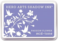 Hero Arts - Shadow Ink Mid-Tone -  Dye Pad - Passion Flower