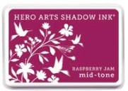 Hero Arts - Shadow Ink - Mid Tone - Dye Pad - Raspberry Jam