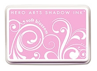 Hero Arts - Shadow Ink - Mid-Tone -  Dye Pad - Soft Blossom