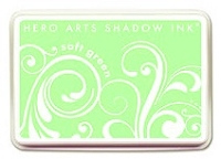 Hero Arts - Shadow Ink - Mid-Tone -  Dye Pad - Soft Green