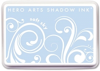 Hero Arts - Shadow Ink Mid-Tone -  Dye Pad - Soft Sky
