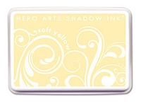 Hero Arts - Shadow Ink - Mid-Tone -  Dye Pad - Soft Yellow