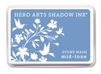 Hero Arts - Shadow Ink - Mid-Tone -  Dye Pad - Stone Wash