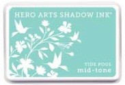 Hero Arts - Shadow Ink Mid Tone - Dye Pad - Tide Pool