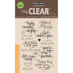 Hero Arts - Clear Stamp - You Are My Happy