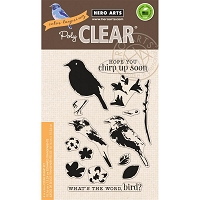 Hero Arts - Clear Stamp - Color Layering Bird and Branch