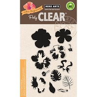 Hero Arts - Clear Stamp - Color Layering Hibiscus