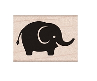 Hero Arts - Wood Mounted Rubber Stamp - Baby Elephant