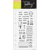 Hero Arts - Clear Stamp - Kelly Purkey Adventure Planner