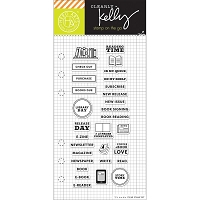 Hero Arts - Clear Stamp - Kelly Purkey Reading Planner