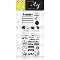 Hero Arts - Clear Stamp - Kelly Purkey Shopping Planner