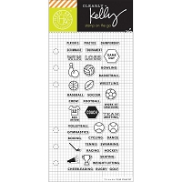Hero Arts - Clear Stamp - Kelly Purkey Sports Planner