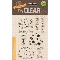 Hero Arts - Clear Stamp - Color Layering Bouquet