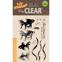 Hero Arts - Clear Stamp - Color Layering Goldfish