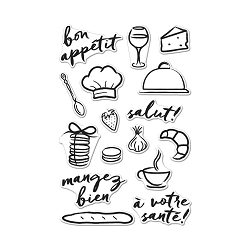 Hero Arts - Clear Stamp - Bon Appetit