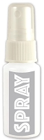 Hero Arts  - Ink Spray - 1 oz Bottle - Silver