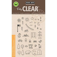 Hero Arts - Clear Stamp - Park Essentials
