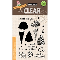 Hero Arts - Clear Stamp - Color Layering Ice Cream
