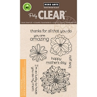 Hero Arts - Clear Stamp - Happy Mother's Day