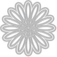 Hero Arts - Fancy Die - Paper Layering Daisy
