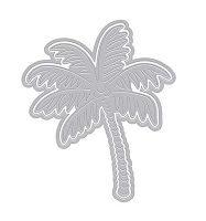 Hero Arts - Fancy Die - Paper Layering Palm Tree