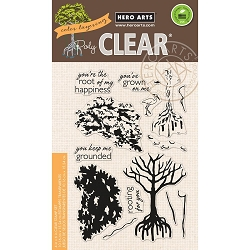 Hero Arts - Clear Stamp - Color Layering Mangrove
